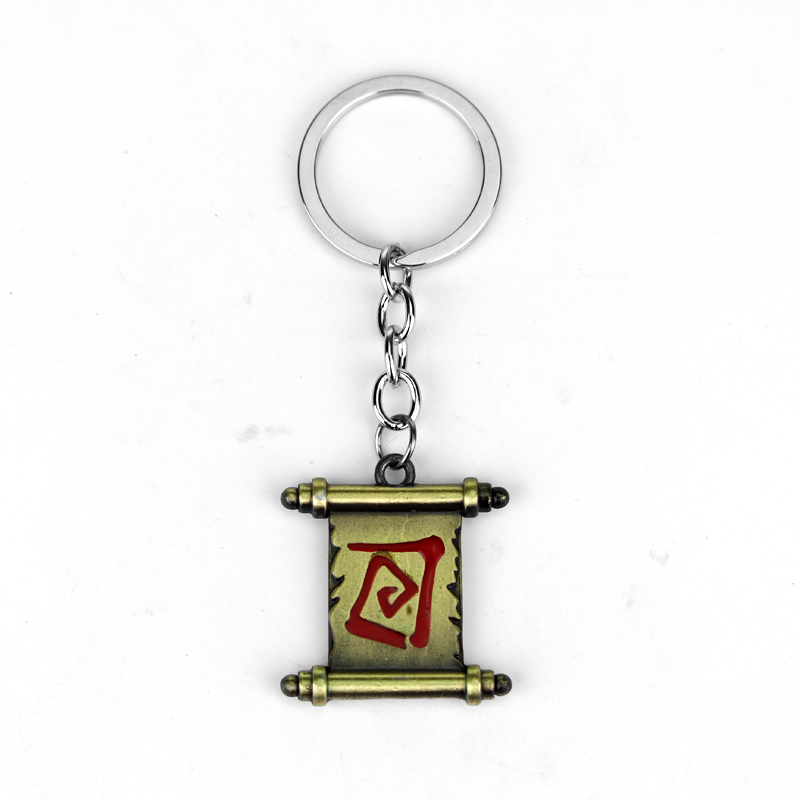 10pcs Hot Online Game League of legend keychain LOL Sword Weapon Pendant Keyring Chaveiros Metal Game Jewelry Drop Shipping