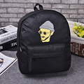 YOUYOU MOUSE Fashion Creative Cartoon Style Shoulders Bag Casual Couple Canvas Backpack Wear Solid Breathable Waterproof Bag