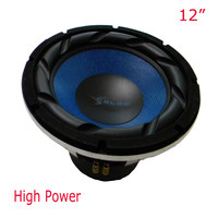 12 Inch Top High Power Quality Car Subwoofer 500Watts Hifi End Speakers SPL And 16khz Boom