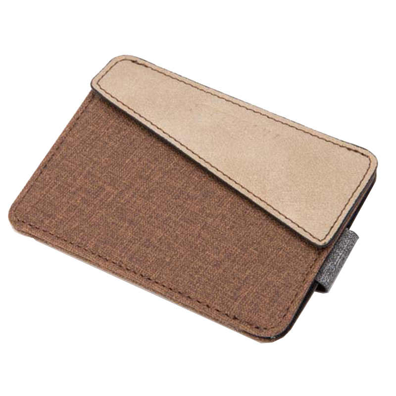 KUDIAN BEAR минималистский мужской держатель для кредитных карт Повседневный визитница европейские бумажники для мужчин -- BID144 PM49