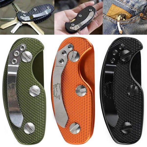 EDC gear key keychain holder folder clamp pocket multi tool organizer collector smart clip kit bar gadget outdoor camp(China)
