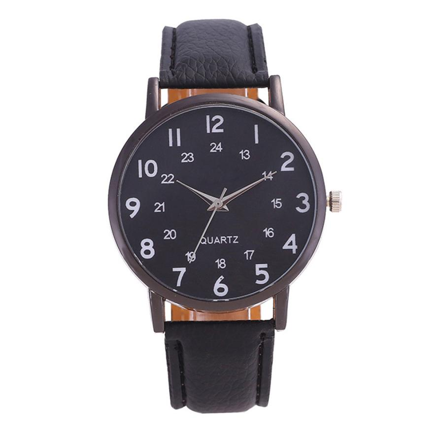 Women's Watch Top Brand Luxury Watches 2018 Leather Classic Casual Saat Quartz Watches Montre Femme Relogio Feminino 18APR03 2016 top luxury brand casual dress quartz watch women watches woman relogio feminino montre femme reloj mujer saat orologi donna page 4 page 3