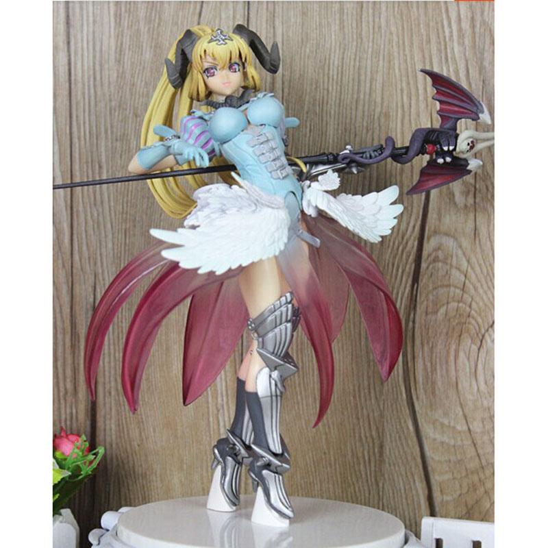 Free Shipping Sexy 12 The Seven Deadly Sins - Lucifer Arrogance 1/8 Scale Cast Off Boxed PVC Action Figure Model Collection Toy orchid seed seven deadly sins belphegor 1 8 scale sexy pvc figure collectible model toy 20cm