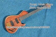 Neue Ankunft China Custom Shop 5 String Bass Gitarre Ebenholz Griffbrett Kostenloser Versand