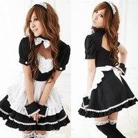 New Hot Sale Alice In Wonderland Dress Lolita Dress Maid Cosplay Dresses Fantasia Carnival Halloween Costumes For Women
