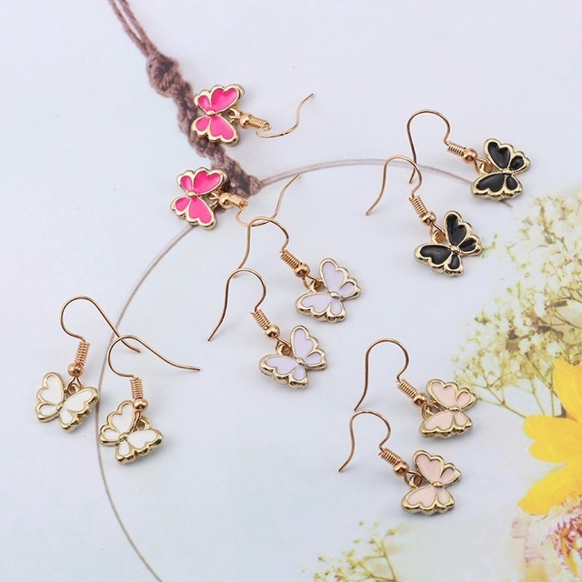 Kawaii Butterfly Shaped Earrings