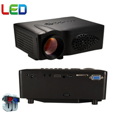 WZATCO de Cine En Casa 1600 lúmenes 800*480 de Vídeo SD HDMI USB LCD LED mini Proyector 3D HD 1080 P Beamer Projetor proyector Más Barato