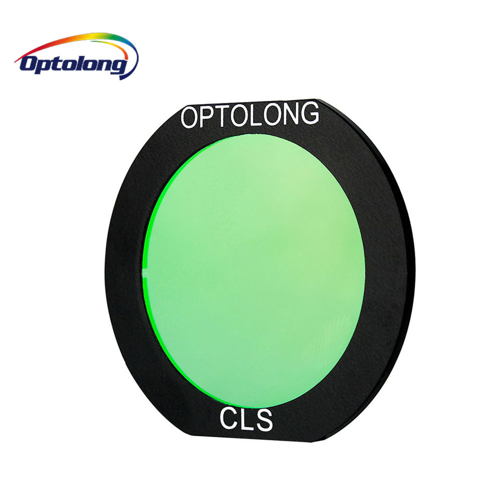 OPTOLONG CLS Filter Clip Built-in Filter for EOS-C Camera Planetary CCD Cameras & DSLR Astronomy Telescope M0011 1 25inch 9 positions manual filter wheel deep space planetary telescope whell colour