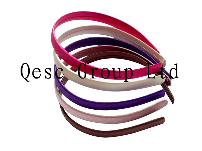 Wholesale NEW FREE SHIPPING by post 1 3cm satin headband for fascinator millinery 100pcs lot