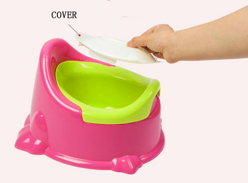 3125cm Cute Baby Potty For Travel Kids Boy Urinal Plastic Portable Child Toilet Seat Trainer Camping Toilet Training  (6)