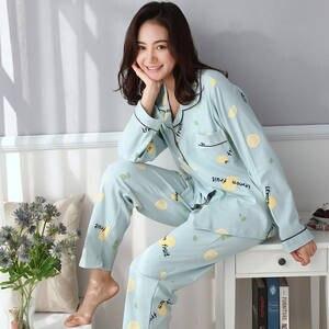 091bf90abe3 Women Clothes Pajamas Sets Plus Size Sleepwear Home Wear