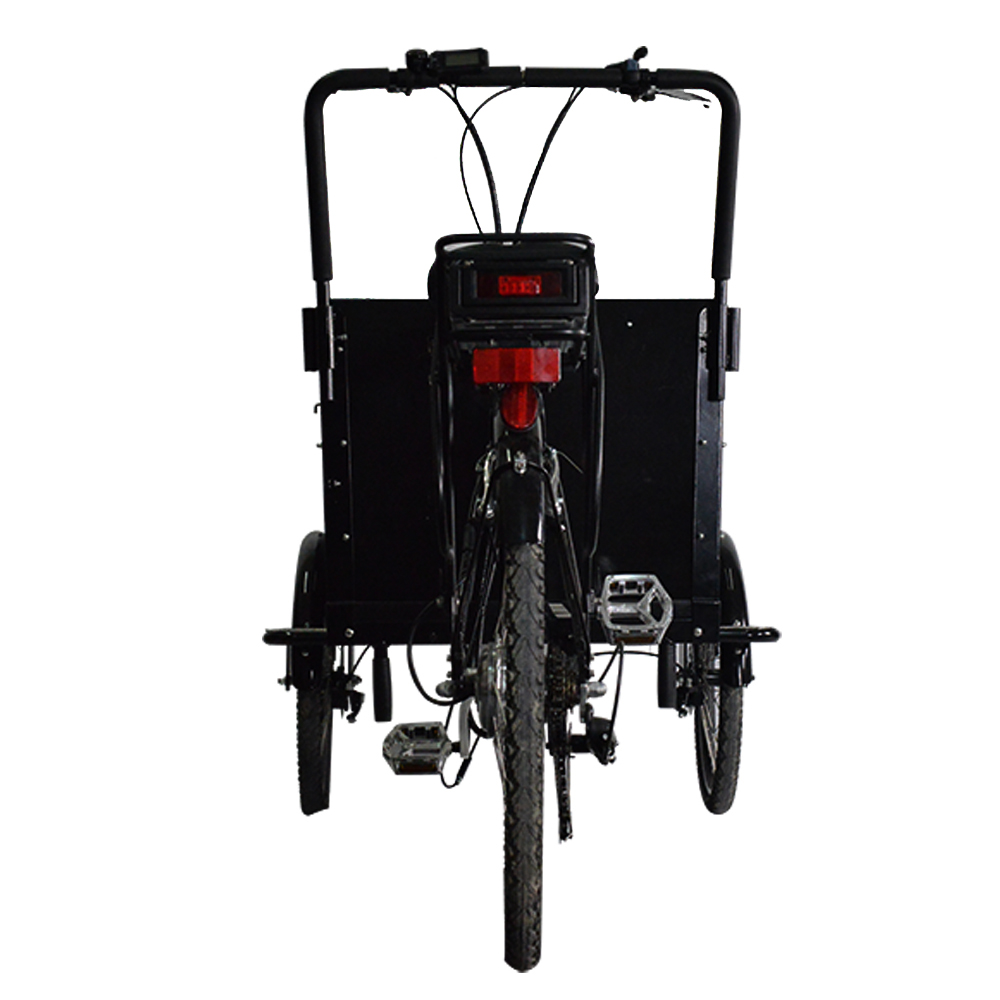 25km/h Aluminum Alloy Cargo Bike Family Cargo Bike With One Year Warranty