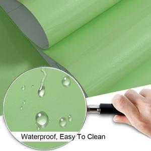 Image 5 - New Red Paint Waterproof DIY Decorative Film PVC Vinyl Self Adhesive Wallpaper Kitchen Cabinet Furniture Wall Sticker Home Decor