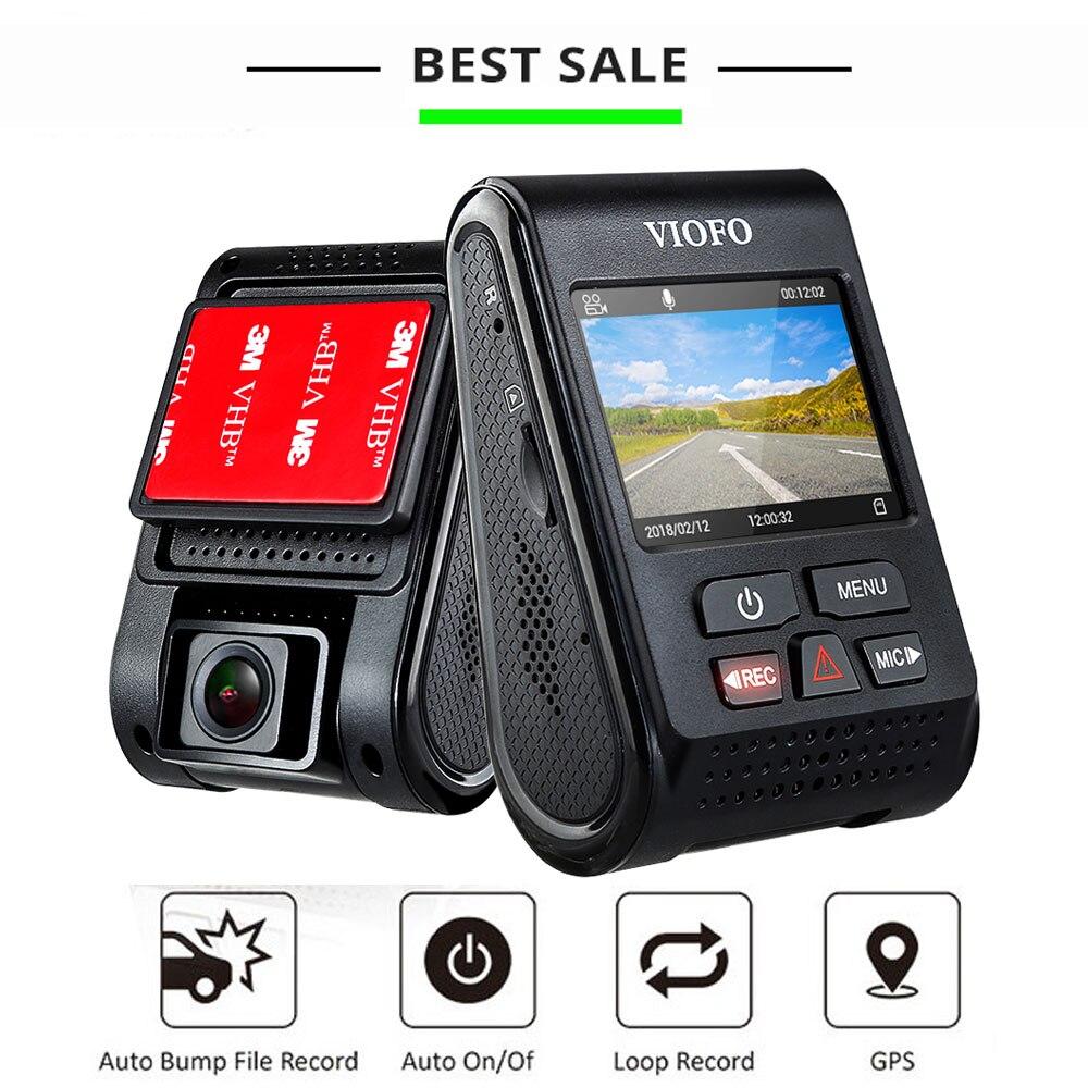 VIOFO Dash caméra enregistreur automatique Dvr voiture Cam 1080 P Full HD Dashcam Mode de stationnement lecteur enregistreur g-sensor tableau de bord Carcam GPS CPL
