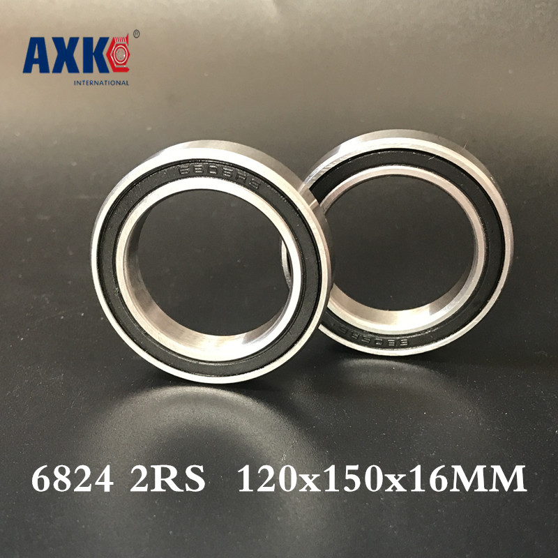 2018 Hot Sale New Steel Thrust Bearing 6824 2rs Abec-1 120x150x16mm Metric Thin Section Bearings 61824 2018 hot sale time limited steel rolamentos 6821 2rs abec 1 105x130x13mm metric thin section bearings 61821 rs 6821rs