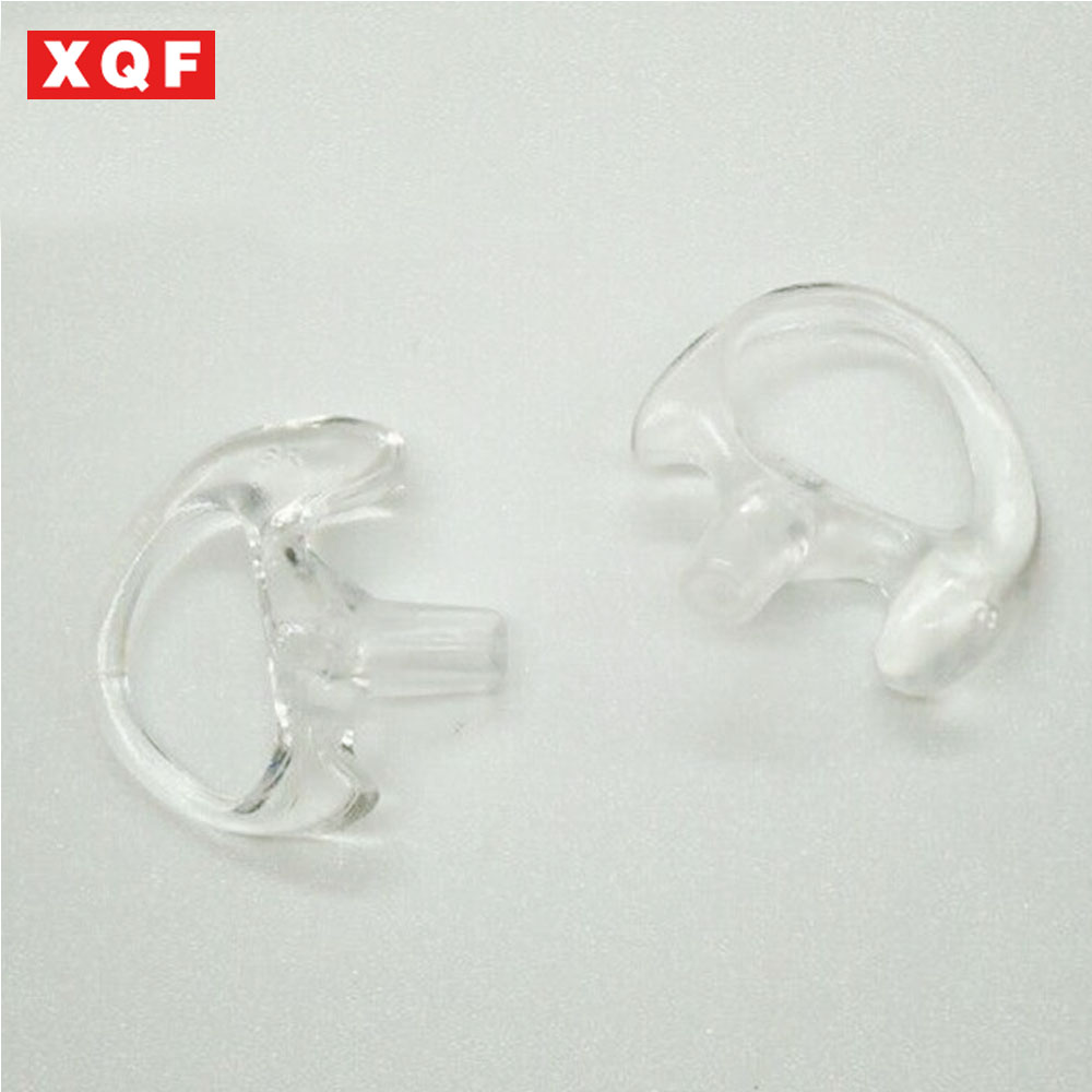 XQF 1 Pair Middle Silicone Soft Ear Bud for Walkie Talkie Earpiece of Ham Radio Hf Transceiver