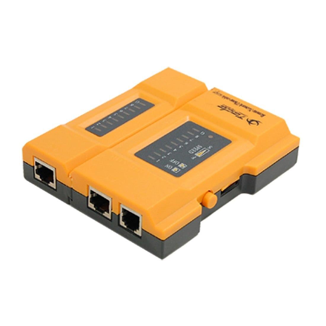 Yoc Горячая Профессиональный RJ11 RJ45 сети LAN телефонный кабель тестер