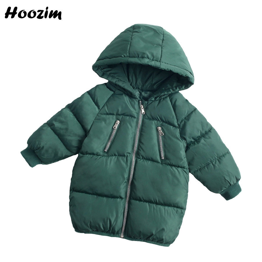 52c331782 Winter Long Jacket For Girls 2 3 4 5 7 8 Years Green Kids Coat Nice ...