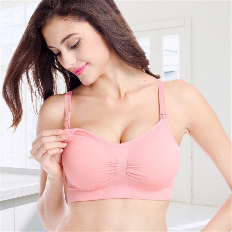 Taoqueen Nursing Bra Maternity Breastfeeding Bra Prevent Sagging for Pregnant Women Underwear Plus Size Breast Feeding Bra