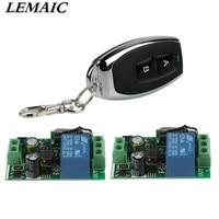 433Mhz Universal Wireless Remote Control Switch AC 85V 250V 110V 220V 1CH Relay Receiver Module And