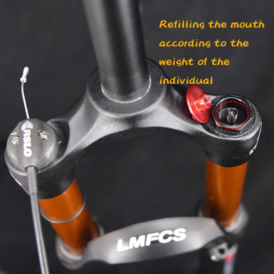 bicycle air fork 26 27.5 29 ER MTB mountain bike suspension fork air resilience oil damping line lock for over SR SUNTOUR EPIXON
