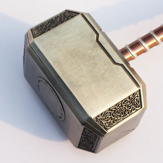 Free Shipping 20cm Avengers Thor s Hammer Toys Thor Custome Thor Cosplay Hammer
