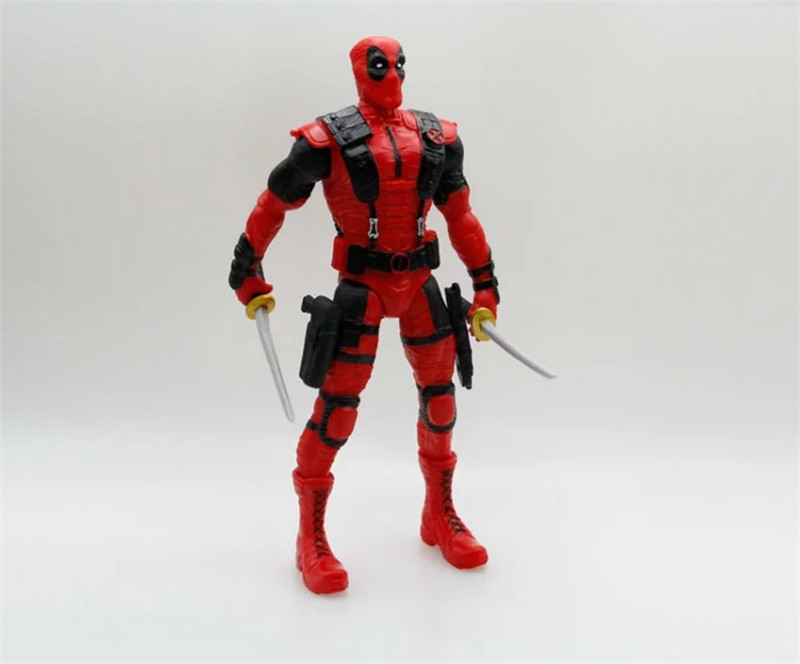 Crazy Toys Deadpool Figure Juguetes PVC Action Figure Brinquedos Figuras Anime Collectible Kids Toys Model Doll 35cm marvel select avengers hulk brinquedos pvc action figure anime juguetes collectible model doll kids toys 25cm