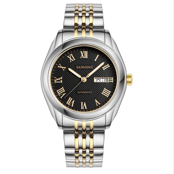 40mm Sangdo Business watch Automatic Self Wind movement Sapphire Crystal High quality Mechanical watches Men s