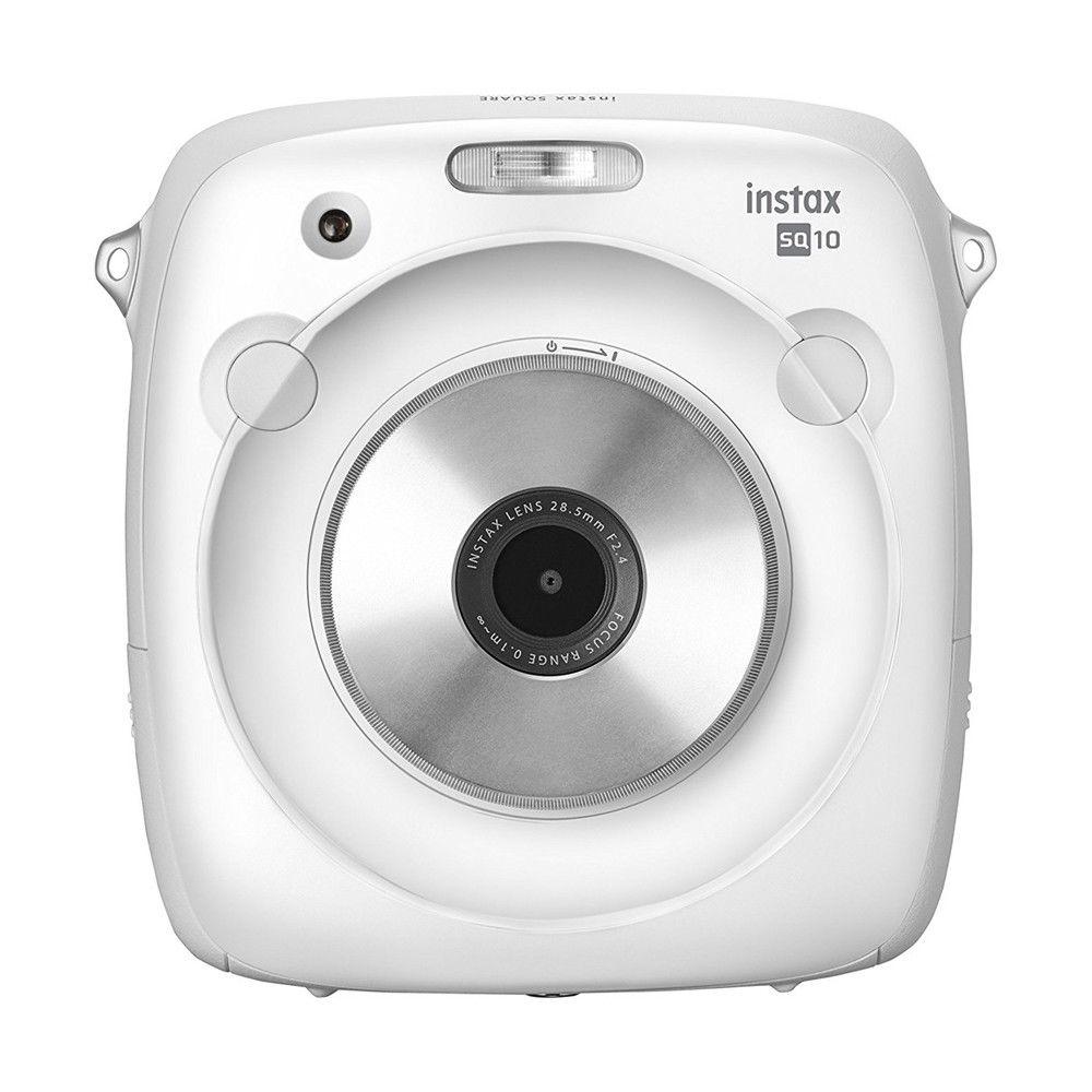 2017 nouveauté 100% véritable appareil Photo Fujifilm Instax SQUARE SQ10 hybride couleur blanche