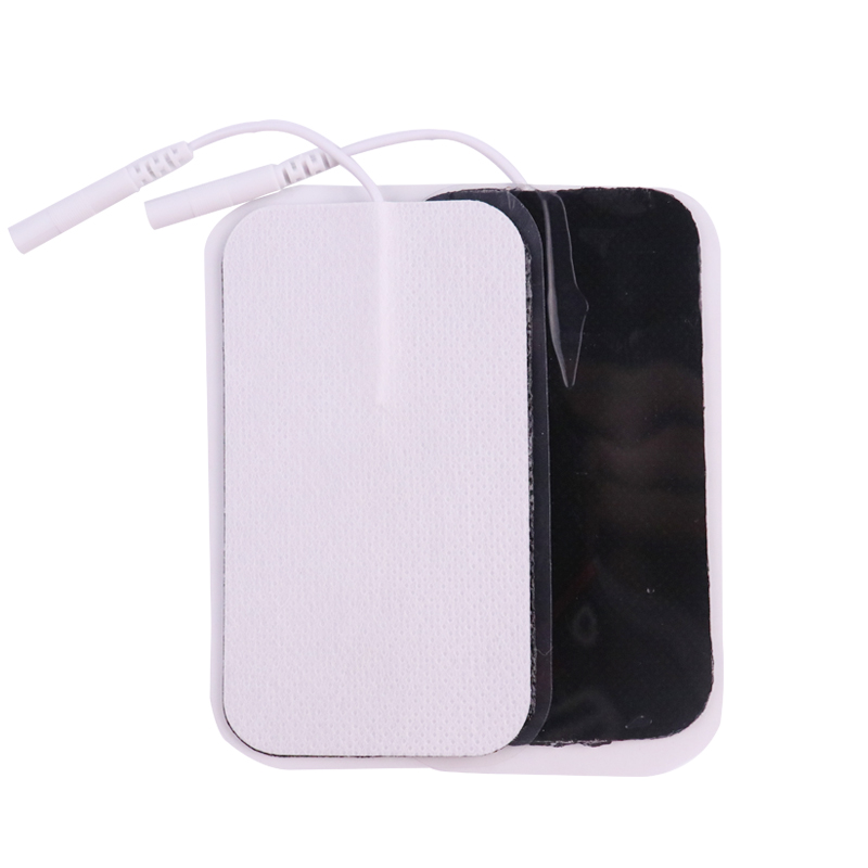 20/50Pcs Selbst-klebe Elektrode Pads 2mm Stecker Gel Patch Für Zehn Akupunktur Therapie Massager Muskel stimulator Abnehmen Gerät