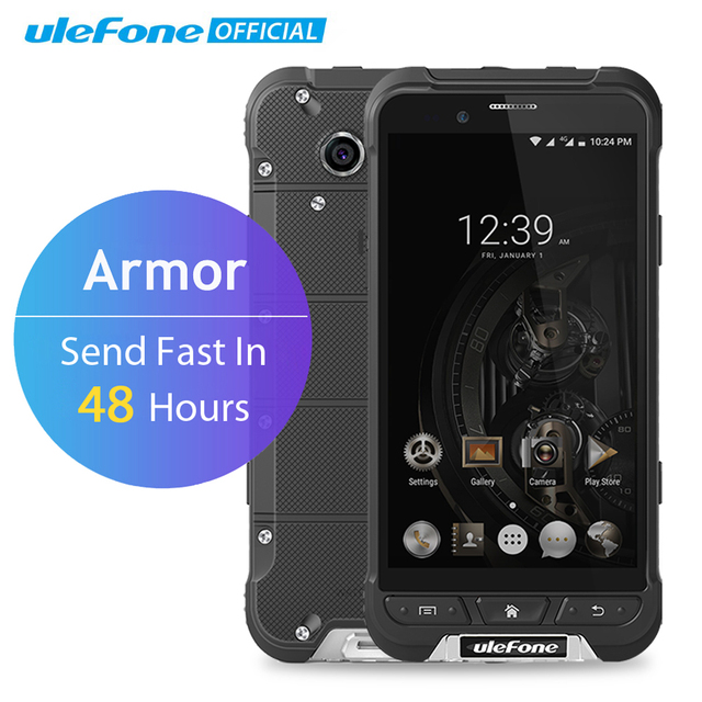 Ulefone ARMOR Mobile Phone 4.7 inch HD MTK6753 Octa Core Android 6.0 3GB RAM 32GB ROM 13MP OTA 4G Waterproof IP68 Smartphone