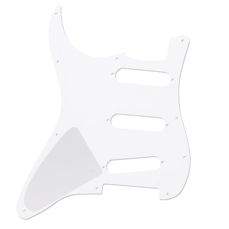 White Tortoise Shell Pickguard 3 Ply Scratch Plates For Fender Stratocaster New #35/14L