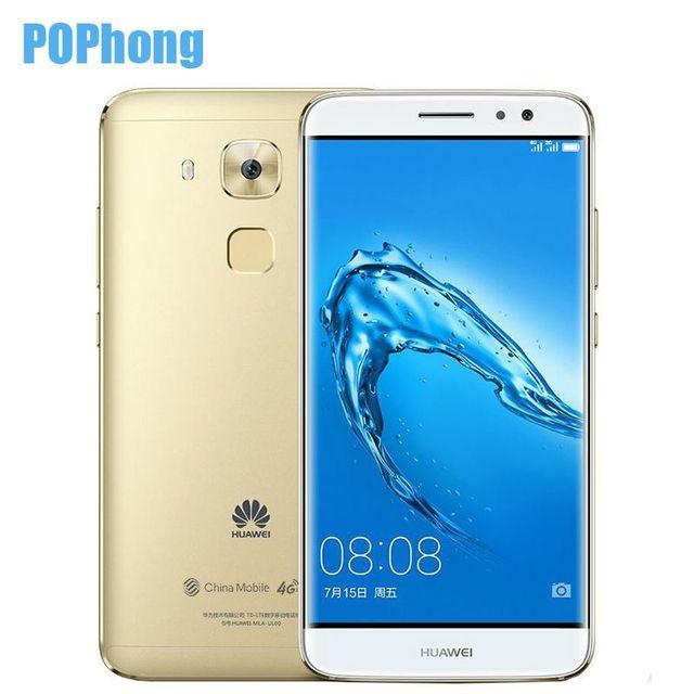 Huawei G9 плюс 5.5 дюймов 1920*1080 LTE смартфон 3 ГБ ОЗУ Snapdragon 625 MSM8953 Octa core android 8.0MP + 16.0MP