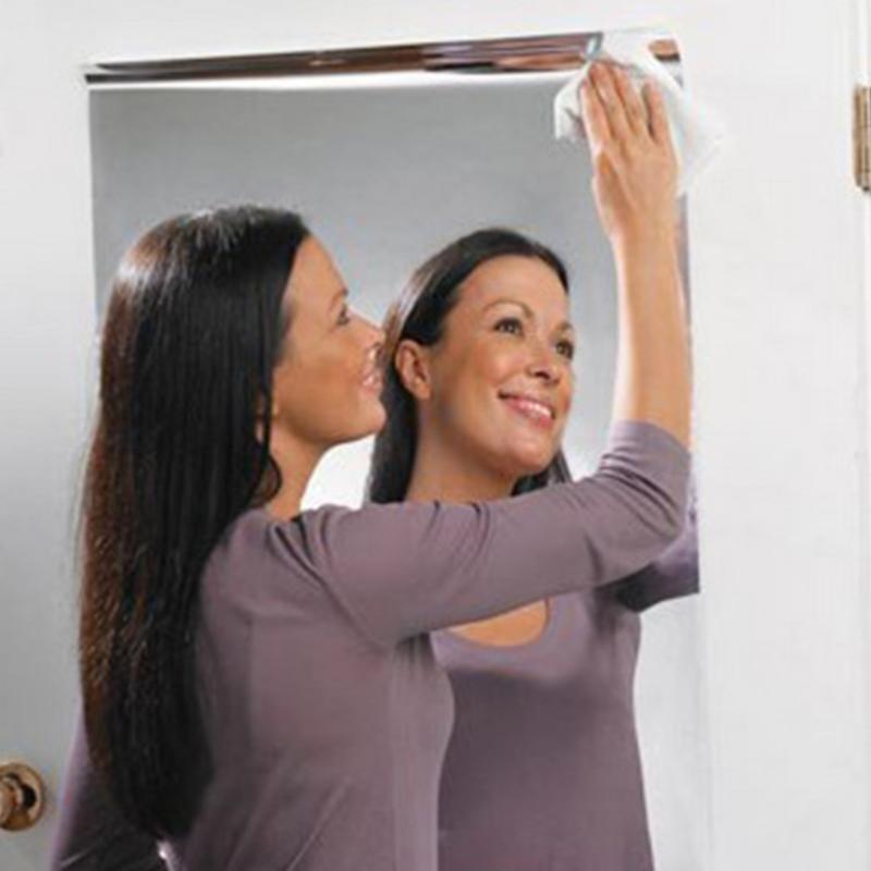 60*100 cm Spiegel Wandaufkleber Quadratischen Spiegel Dekorative Folie Wandaufkleber DIY Wohnkultur Wohnzimmer Dekoration Wand aufkleber Heißer
