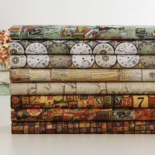 Vintage Men, Eclecticism, U.S. Import, Cotton Cloth, Patchwork, Handcraft DIY, Rowan 1/4m