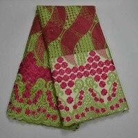 Bán buôn Sản Phẩm Lưới Ren Vải Ren Phi Thêu Pháp Tulle Ren Vải Với Thạch Nigeria Wedding Dress