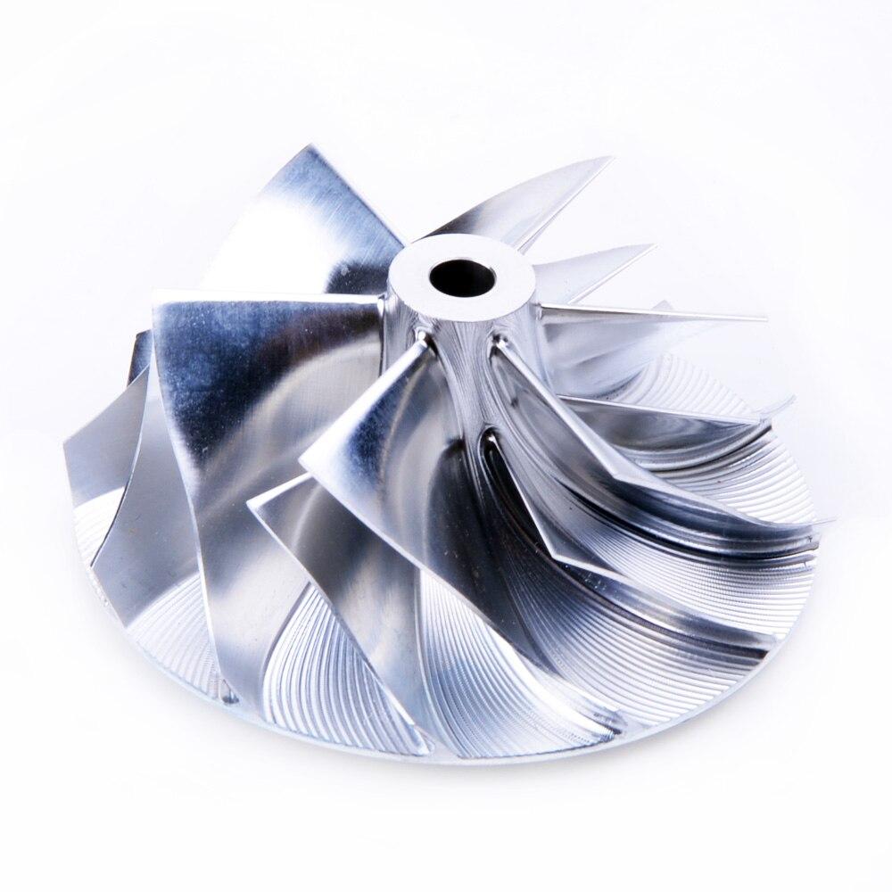Kinugawa Billet Turbo Compressor Wheel 74.67/102.38mm 6+6 for Garrett GT42 GTA4202 Detroit Diesel Series 60 kinugawa turbo billet compressor wheel 47 1 60 13mm 11 0 raise over height for garrett gtx2860r 813711 0003