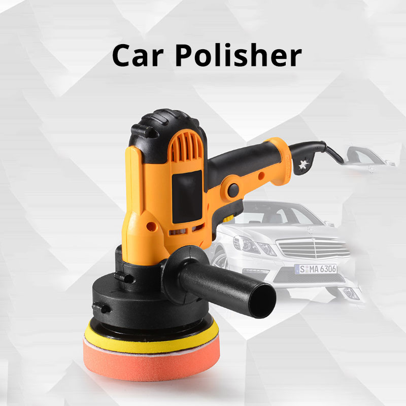 700W Car Polisher Machine Car Polish For Auto Polishing Auto Adjustable Speed Waxing Grinding Tools Pulidora