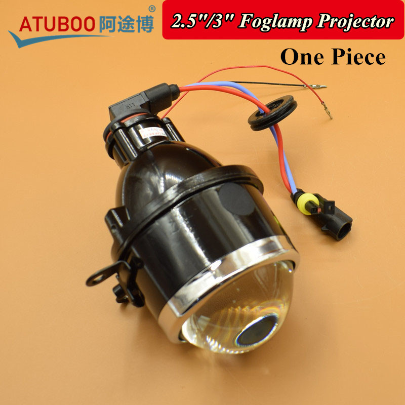 1 Piece Car Motortcycle Universal 2.5 3 Bi-xenon Fog Light Projector Lens H11 Hid Xenon Bulb Waterproof Fog lamp Assembly мужская футболка gildan 100% lol 9364