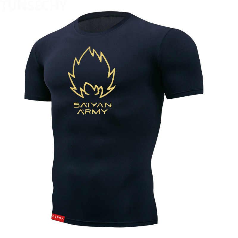 スポーツ Survetement 男性のスポーツウェアアクティブ Tシャツ半袖クイックドライトレーニングシャツシャツ男性ジムトップ Tシャツ服