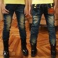 Retail 2016 new arrival spring autumn winter children jeans  kids trousers boys jeans long pants 3-12Y