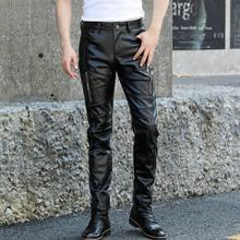 Новинка г. мужская одежда GD стилист Мода выступление мотоцикл Локомотив кожаные штаны брюки певица костюмы