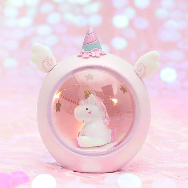 Mini Unicorn Night Light Home Decoration 2