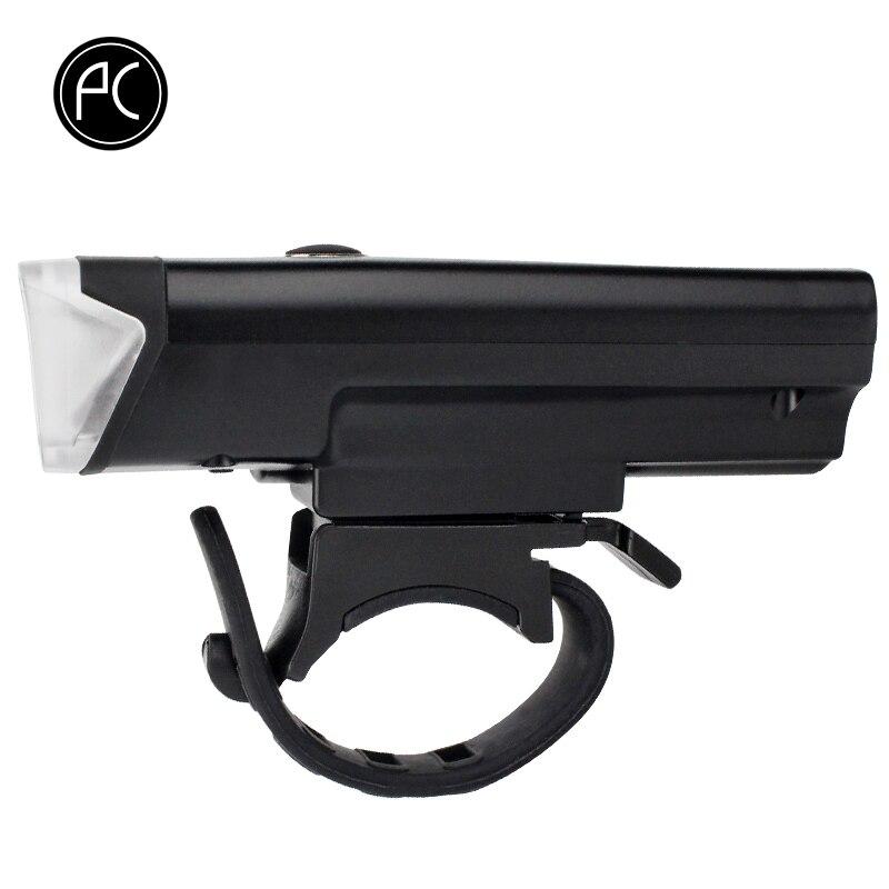 PCycling Bicycle Light Intelligent Front Flashlight Waterproof Lamp Smart Sensor Bike Light 350 Lumens 4 Modes USB Rechargeable