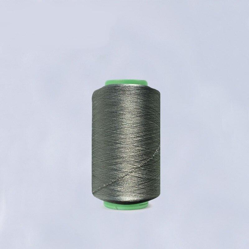 Fil à coudre spandex en fiber d'argent 40/40 (fiber d'argent 87% + spandex 13%)