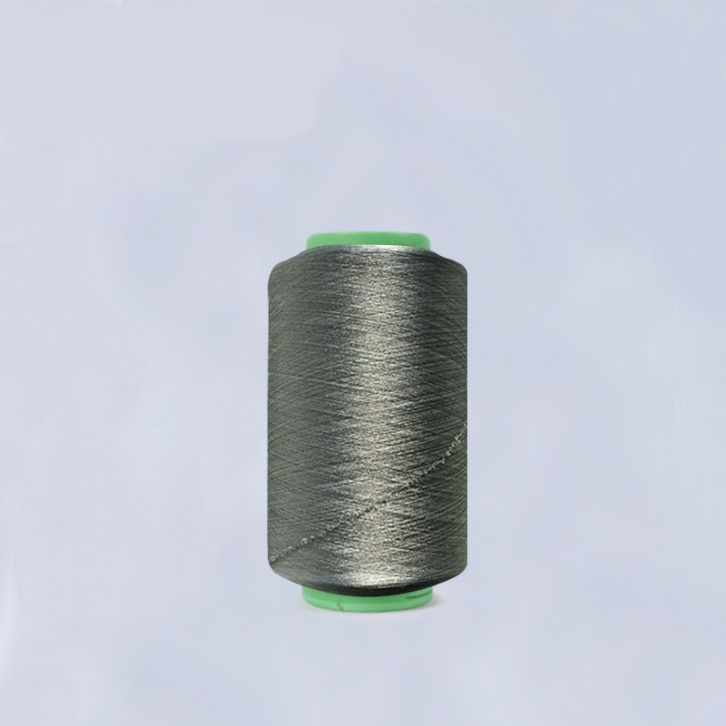 Fil à coudre spandex en fibre d'argent 40/70 (fibre d'argent 87% + spandex 13%)