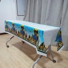 1pcs/set Batman theme Kids Boys Event Party Supplies Birthday Decoration Plastic Table Cover Disposable Tablecloth