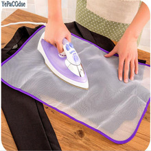 Protective Heat insulation Press Mesh Ironing Cloth Guard Protect Delicate Garment Clothes Household Products