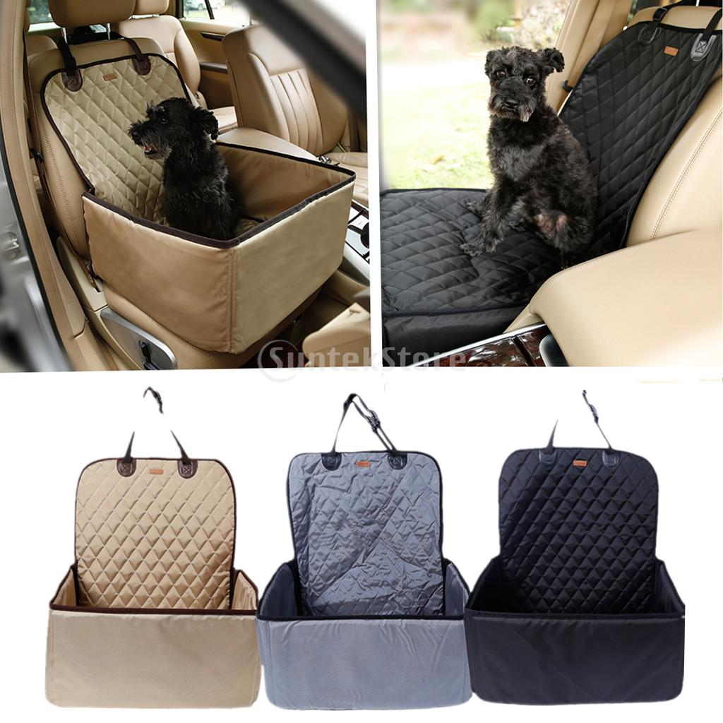 Dog Car Protector >> Waterproof Nylon Pet Dog Cat Car Auto Front Seat Mat Cover Blanket Hammock Scratch Protector-in ...