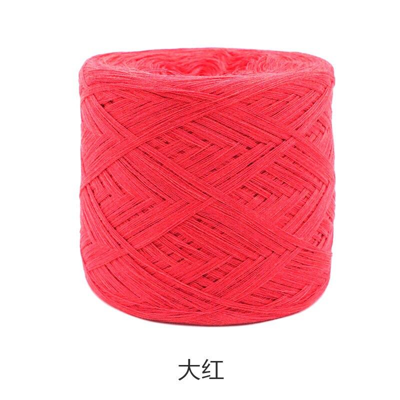 250 г/шт., белая, небеленая, оригинальная, Экологичная, здоровая, хлопковая, вязаная пряжа, детская, натуральная, мягкая, пряжа для вязания крючком - Цвет: red
